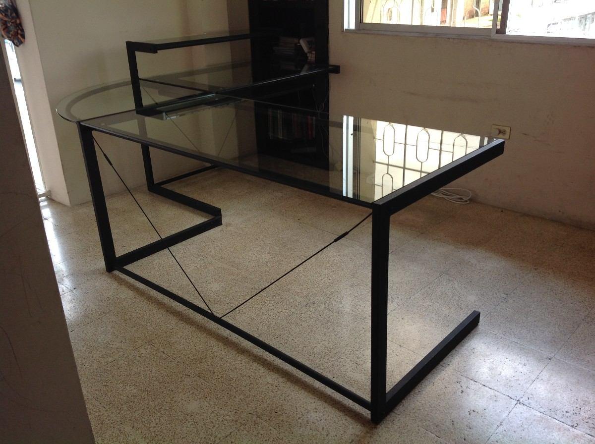 Muebles de vidrio y metal 20170816110930 - Muebles de metal ...