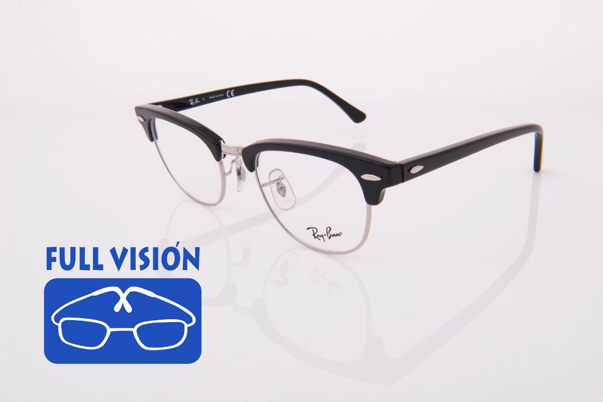 lentes ray ban clubmaster oftalmicos