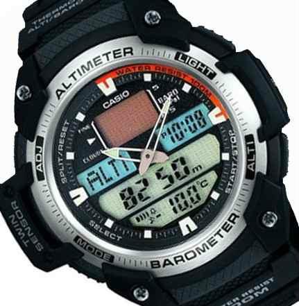 Reloj Casio Sport Sgw 400 Altimetro Barometro Termometro Sport